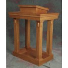Wood Stain Open Pulpit